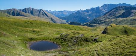 Lake Verney,Petit Saint Bernard,Val Daoste,Italy Editorial