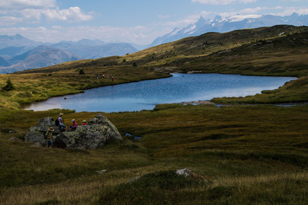 lac du taillefer,isere,france