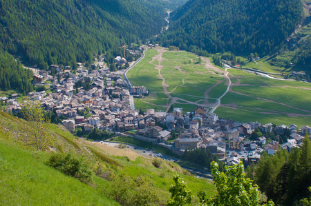 cogne,val of aosta,italy Stock Photo