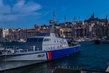 vieux port,marseille,bouche du rhone,france Stock Photo