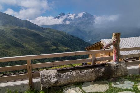 Saint Martin,Alpage De l'a Vieille,Valais,Swiss. Stock fotó