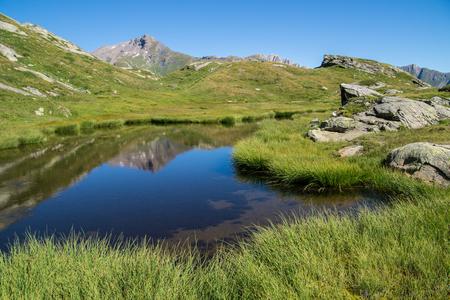 lake verney,petit saint bernard,val daoste,italy