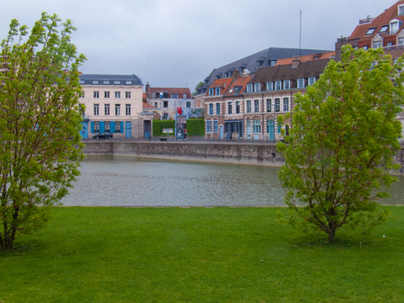 embankment dy wault, lille, nord, france