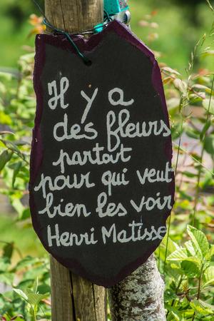 artist's phrase in margueride