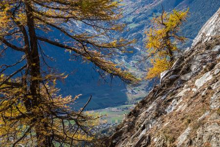 pass of lien in valais in swiss