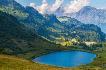 Lake of Vernant, France