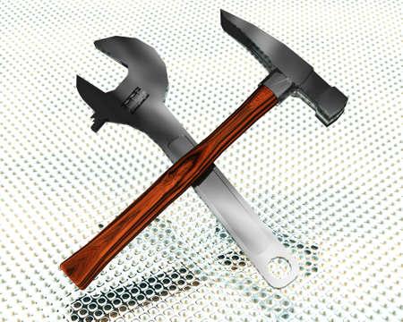screwdriwer: 3d tools set