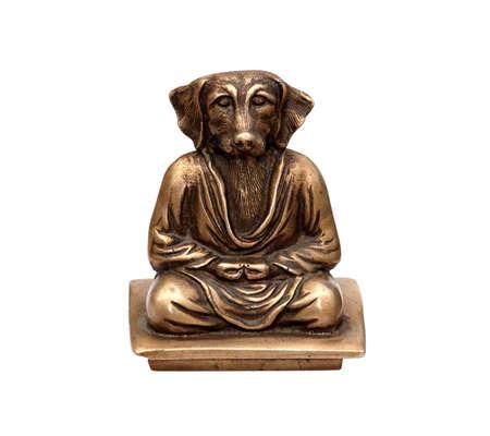 indian god: indian god dogmen isolated on white