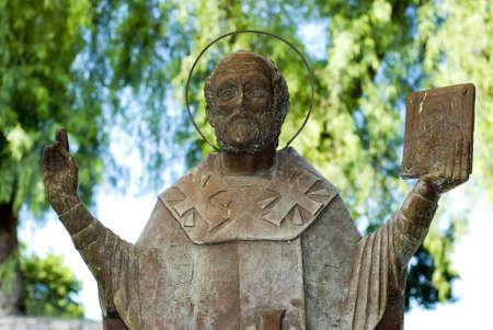 nicholas: Saint Nicholas of Myra Stock Photo