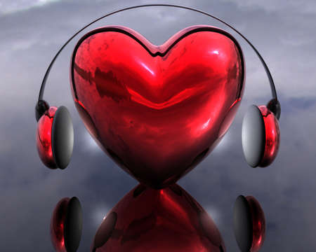 music of the heart creative background