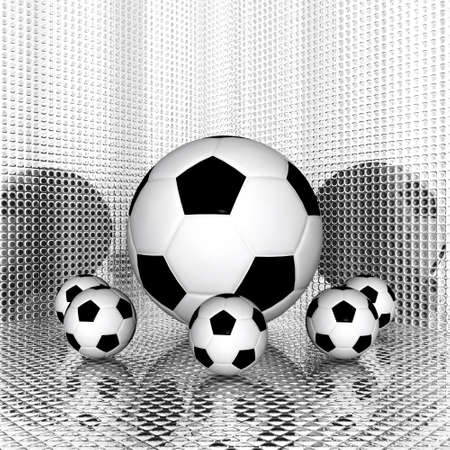 3d Soccer ball Stock Photo - 3879177
