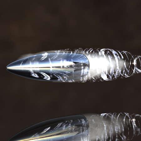 gun shell: brillante vi�eta volador con pista