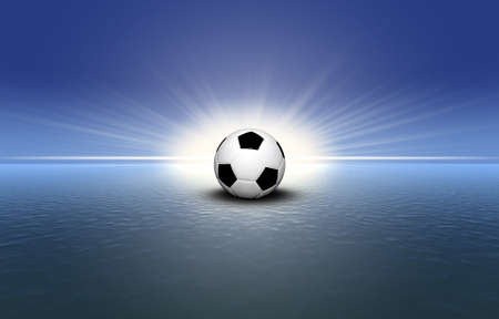soccer ball on the grass Stock Photo - 4228522