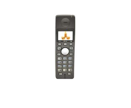 phone tube isolated on a white background photo