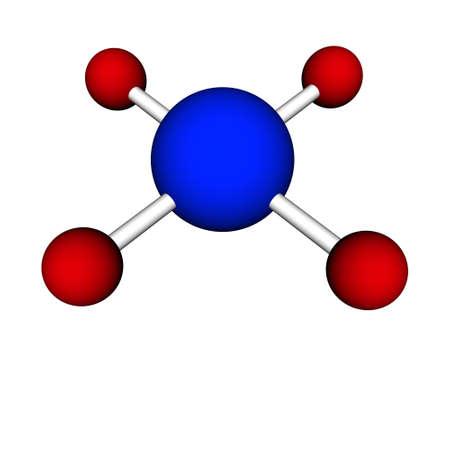 molecula de agua: mol�cula de agua H2O aisladas sobre fondo blanco