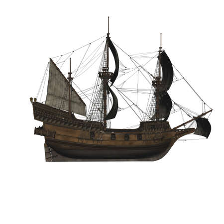 Sailing vessel in the sea Stock Photo - 4316678