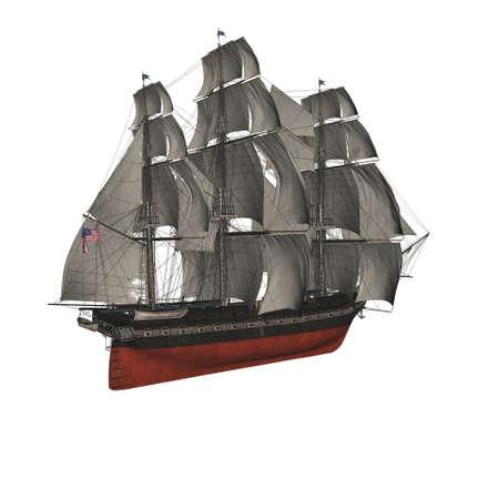 Sailing vessel in the sea Stock Photo - 4316731