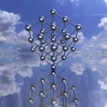 chemic: Modello molecolare di un reticolo di riflessione