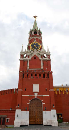 Red Square, Kremlin And Spasskaja Tower, Moscow, Russia photo