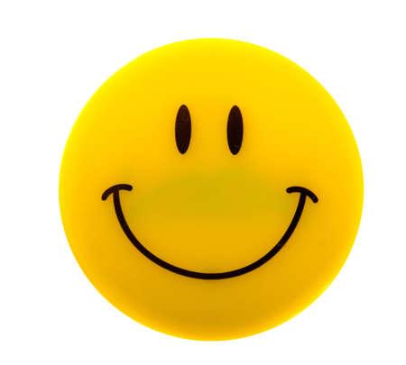 Smiley Face on white Stock Photo - 6517683