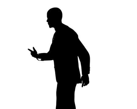senate: Barack Obama silhouette