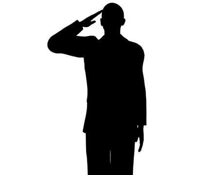 senate race: Barack Obama silhouette