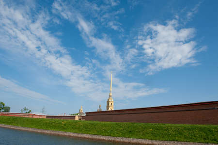 The Peter and Paul Fortress, St. Petersburg, Russia  Stock Photo - 7005465