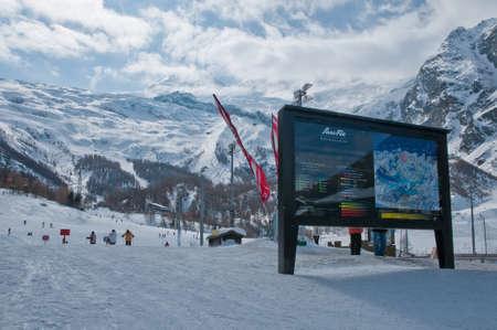 Saas Fee: Saas-Fee Ski Resort, starting point