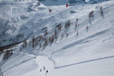 Saas Fee: Saas-Fee ski slope nr  11