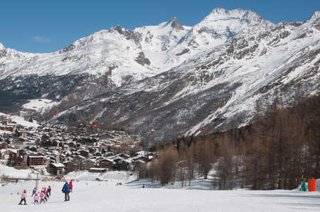 Saas Fee: Saas-Fee Ski Resort