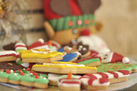 Christmas design delicious mix cookies
