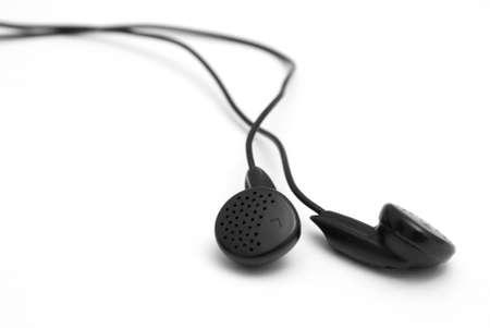 A set of headphones on white background. Stock Photo - 4477142
