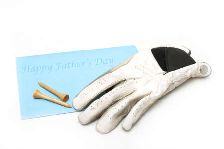 A card for dad on fathers day. photo