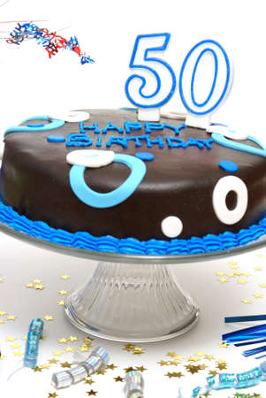 number 50: A 50th birthday cake for that special someone.