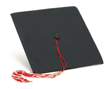 卒業帽子の分離ショット。