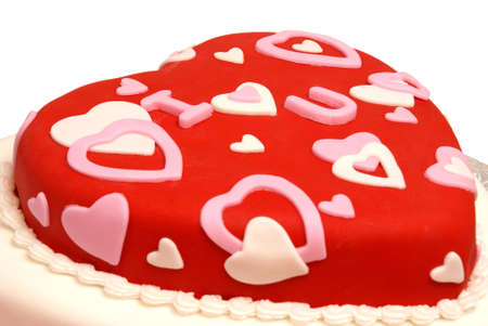 fondant: A cake in the shape of a heart for Valentines, Anniversaries, and Birthdays.