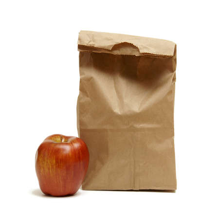 brown: A great way to save money is by brown bagging it to work or school and its usually healthier too.