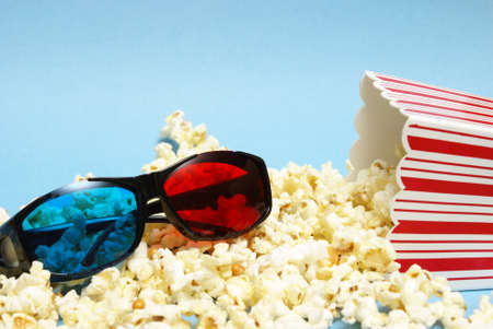 overflowing: A still-life theme based on the experience of 3d movie entertainment.