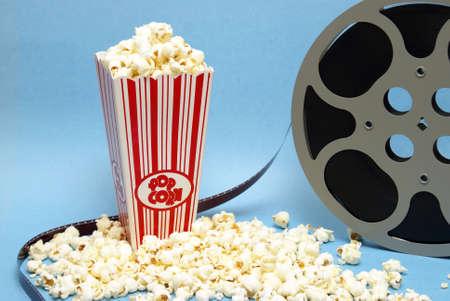 Een stilleven van zaken met betrekking tot de filmindustrie.