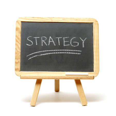 A simple tactic in success is to have strategy. Stockfoto