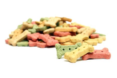 mans best friend: A variety of flavourful treats to reward mans best friend. Stock Photo