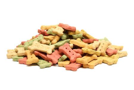 A variety of flavourful treats to reward mans best friend. Archivio Fotografico