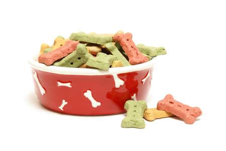 treats: Una ciotola del cane elegante completo del mans migliori amici trattare.