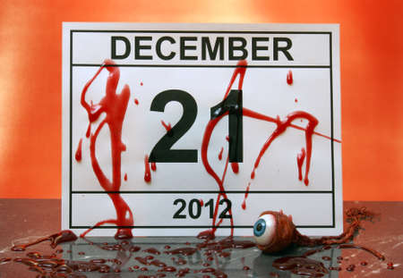 December 21, 2012 marks the end of days from the Myan Aztec calendar. Stock Photo - 15958328