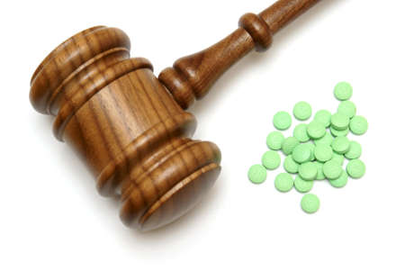 lawsuit: A concept on the medical laws of prescription drugs.