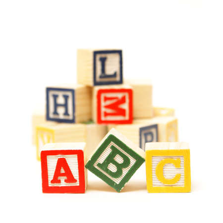 Fundamentals to any early childhood education starts with the alphabet. Stock Photo - 17598000