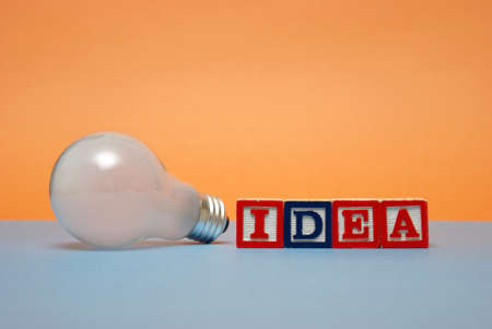 Ideas are a great tool in creating solutions. photo