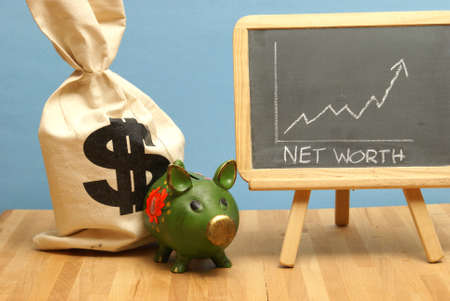 net income: A net worth increase for this statistical data report.