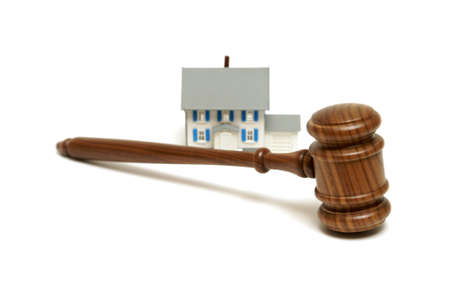 bank owned: A concept based on mnay housing legalities. Stock Photo