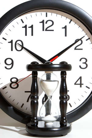 Varing measurments of time from classic ways to more modern Stock Photo - 25971160